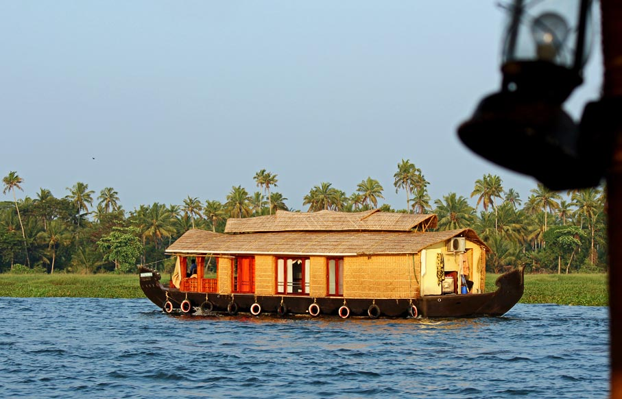 Stock Pictures: Kerala Houseboats