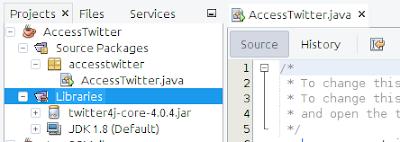 Cara Menghubungkan Twitter dengan Program Java 7