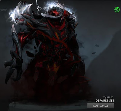 Shadow Fiend Eternal Harvest Dota 2 Mods