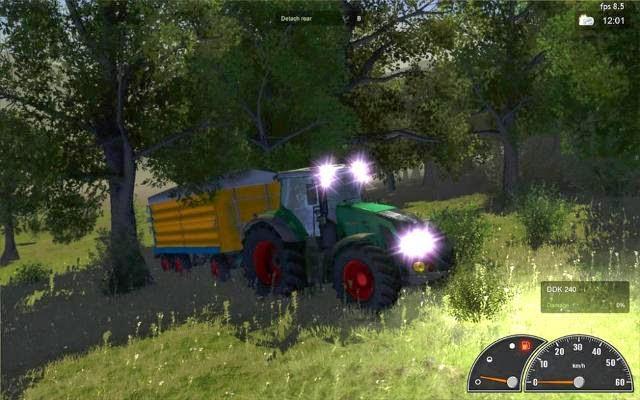 Agricultural Simulator 2012 PC Gameplay