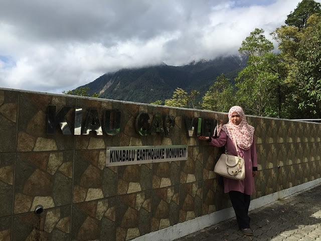 Monumen Gempa Bumi gunung kinabalu
