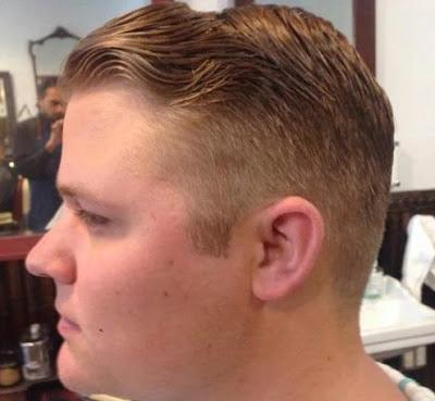 foto rambut pendek pria terbaru untuk orang gemuk