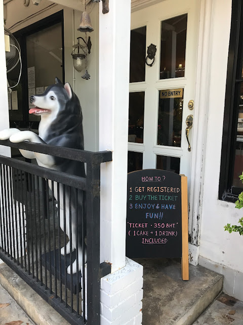 Truelove at Neverland ( huskies Cafe)