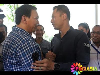 Berdasarkan Survei Poltracking Cagub Ahok Terpopuler Sementara Cagub Agus Yudhoyono Paling Disukai