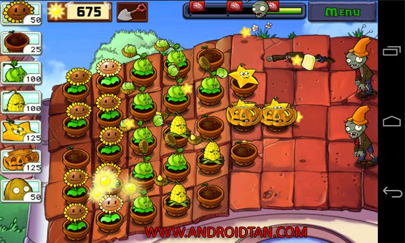 Plants vs. Zombies FREE Download Mod Apk + Data v1.1.62 Android Terbaru 2017 Free