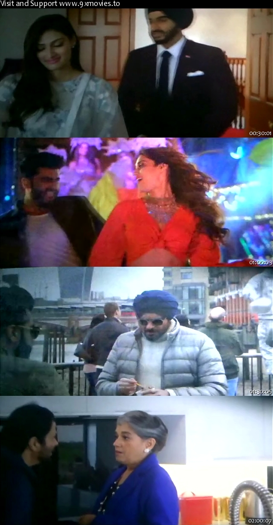 Mubarakan 2017 Hindi pDVDRip x264 700MB