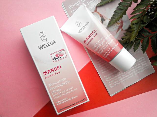Weleda Mandel Sensible Haut Миндальный увлажняющий крем для лица