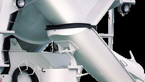 Hệ thống trượt vật liệu xe trộn HD270