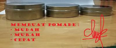 Cara Membuat Pomade Dengan Mudah.