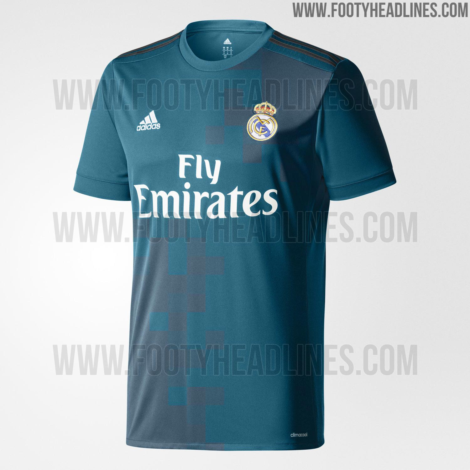 Real Madrid 17 18 tercera camiseta