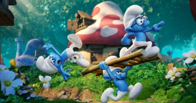@toteyj's cover photo for 'Win 4 Tickets to See The Smurfs!'