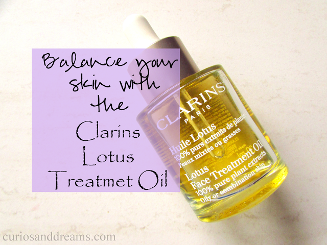 Clarins Lotus Face Treatment Oil, Clarins Lotus Face Treatment Oil review,