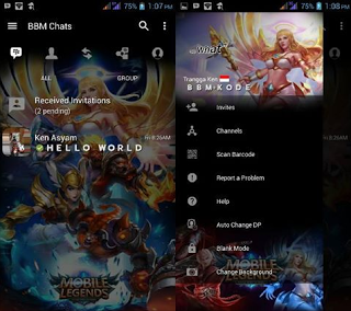 BBM MOD Mobile Legends APK