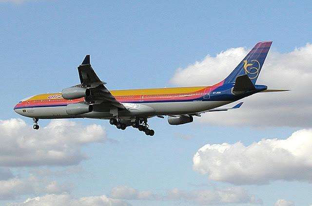Gambar Pesawat Airbus A340 10