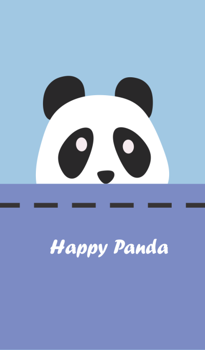 Simple Happy Panda