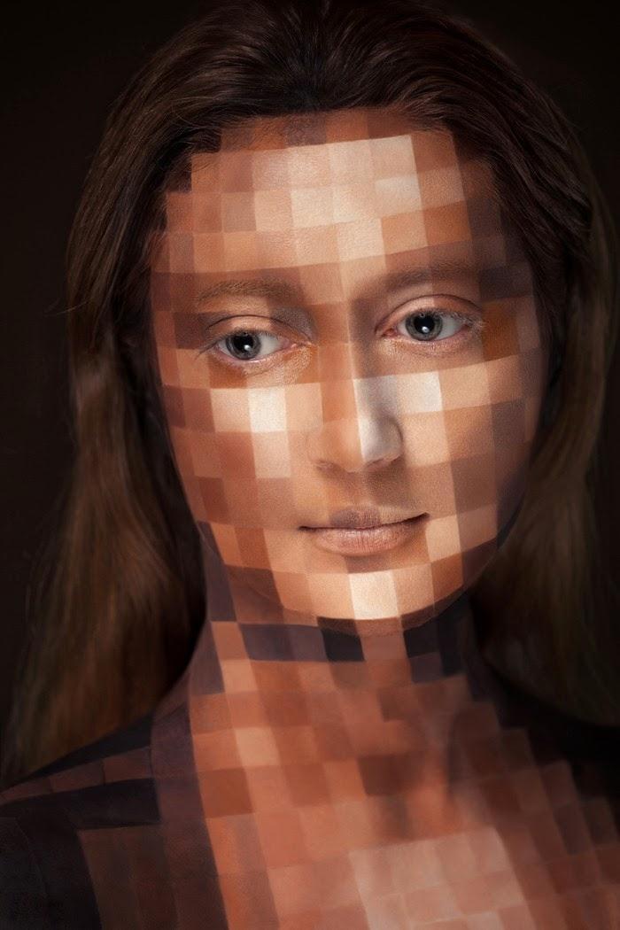 Рисунки на лице. Alexander Khokhlov