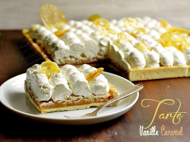 tarte caramel beurre salé vanille