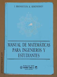 jarban02_pic063: Manual de matemáticas para ingenieros y estudiantes de I. Bronshtein y K. Semendiaev
