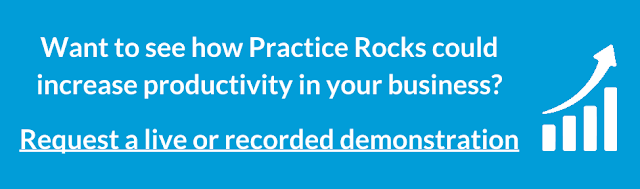 Request Practice Rocks Interactive Software Training Demonstration
