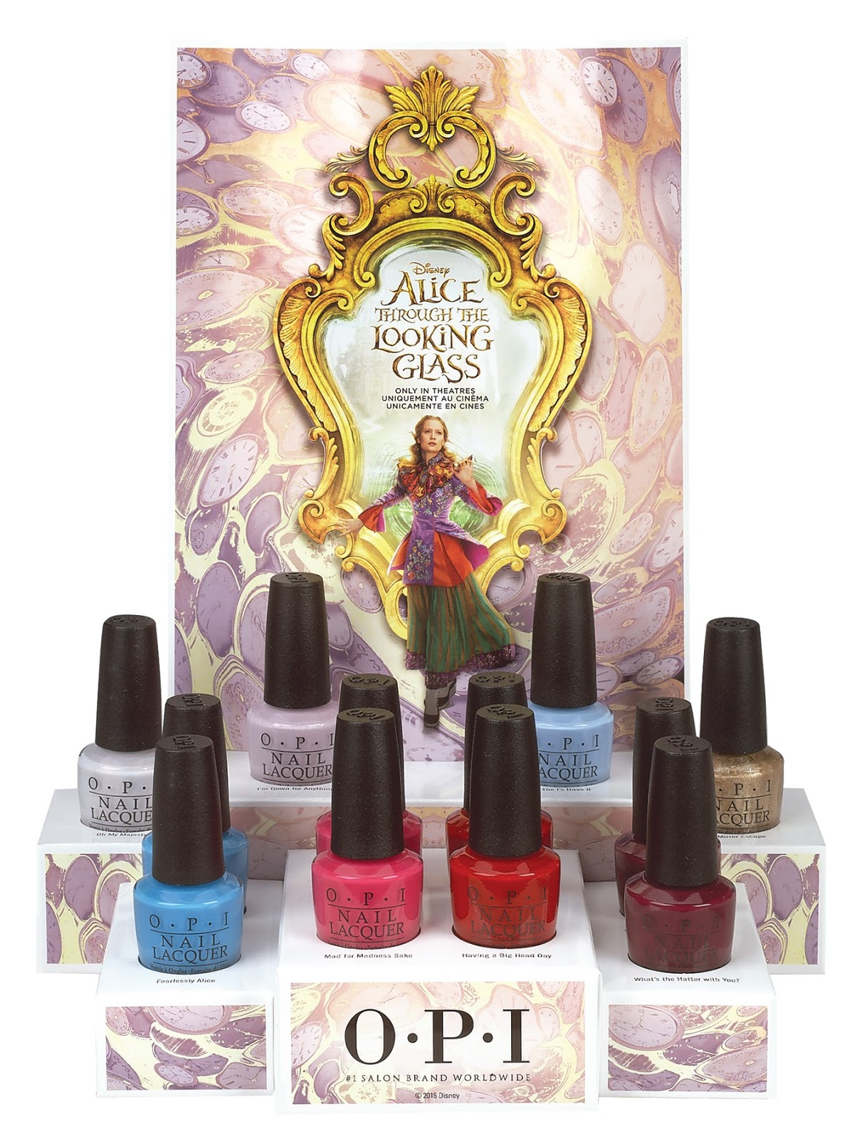 Disney Alice Through the Looking Glass Collection by OPI / Polished ...