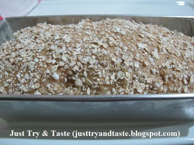 Resep Roti Kismis Oatmeal (Oatmeal Raisin Bread) JTT