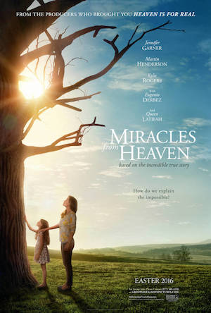 Poster Miracles from Heaven 2016