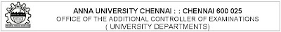 Anna University BE. B.Tech 2017 Exam Revised New Timetable