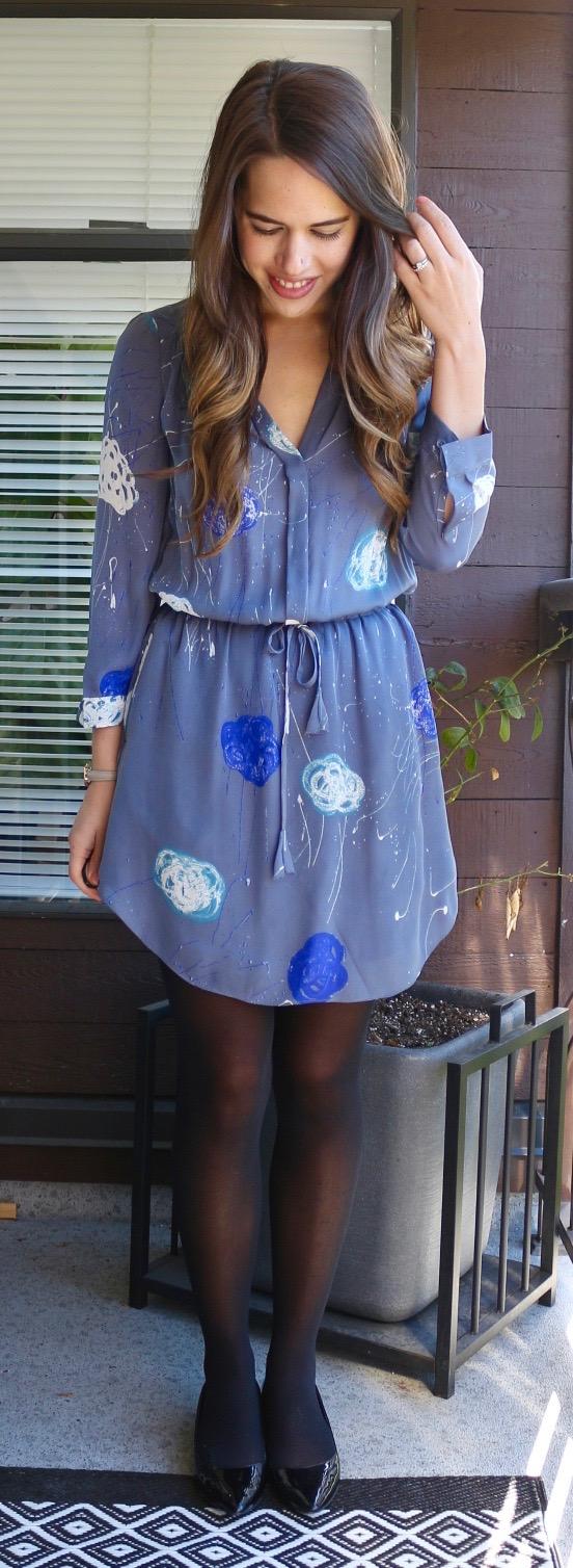 Jules in Flats - Aritizia Babaton Silk Dress