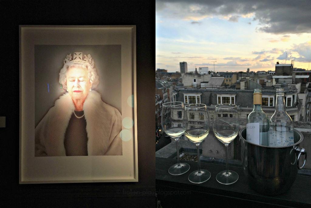 Mittwochs mag ich, London, Aqua Kyoto, japanese restaurant japanisches Restaurant London, Rooftop Bar London, Ausgehtipps Wochenendtipps London, Kurztrip, Queen Elizabeth