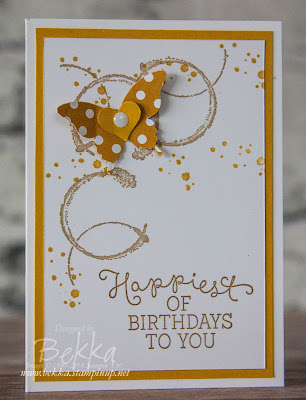 Timeless Textures Birthday Card with Butterflies - Get the details here