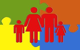 Famiglia colorata