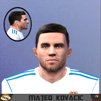 PES 6 Faces Mateo Kovacic by Gabo Facemaker