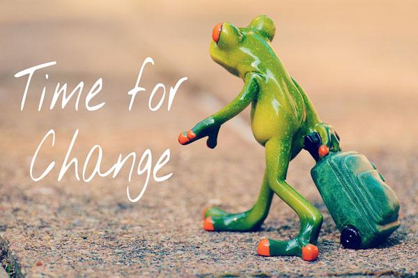 tiempo de tener un cambio de vida