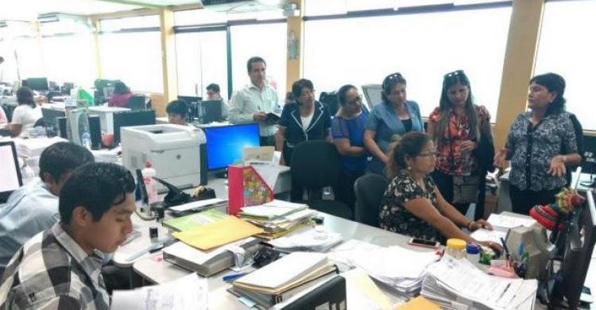 Funcionarios de la UGEL Ucayali hicieron pasantía en la UGEL 01 - www.ugel01.gob.pe