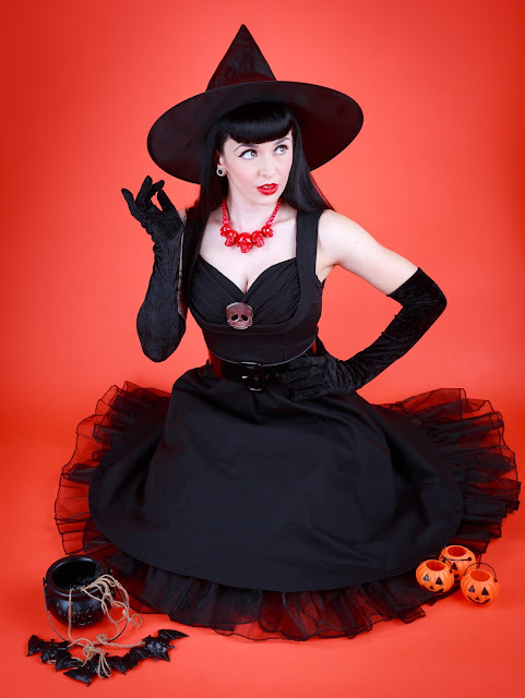 Halloween Pinup Photoshoot - Little Miss Doo Wop - Portraits & Pinups