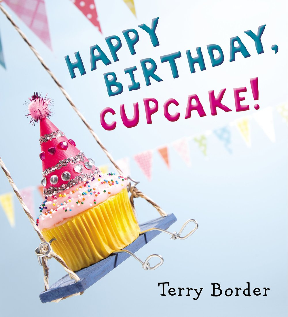 Happy Birthday Cupcake By Terry Border