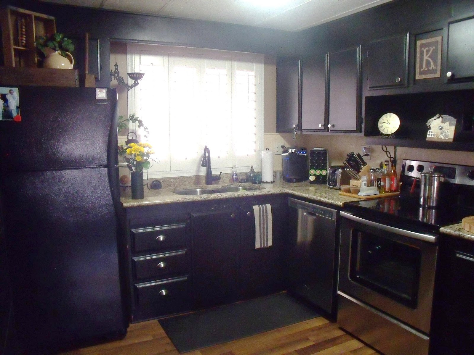 Doublewide Decor: MH Updated Kitchen