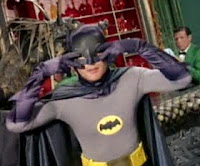 Adam West as Batman dancing