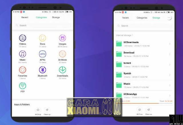 Tema Samsung S8 Pro Untuk MIUI Xiaomi