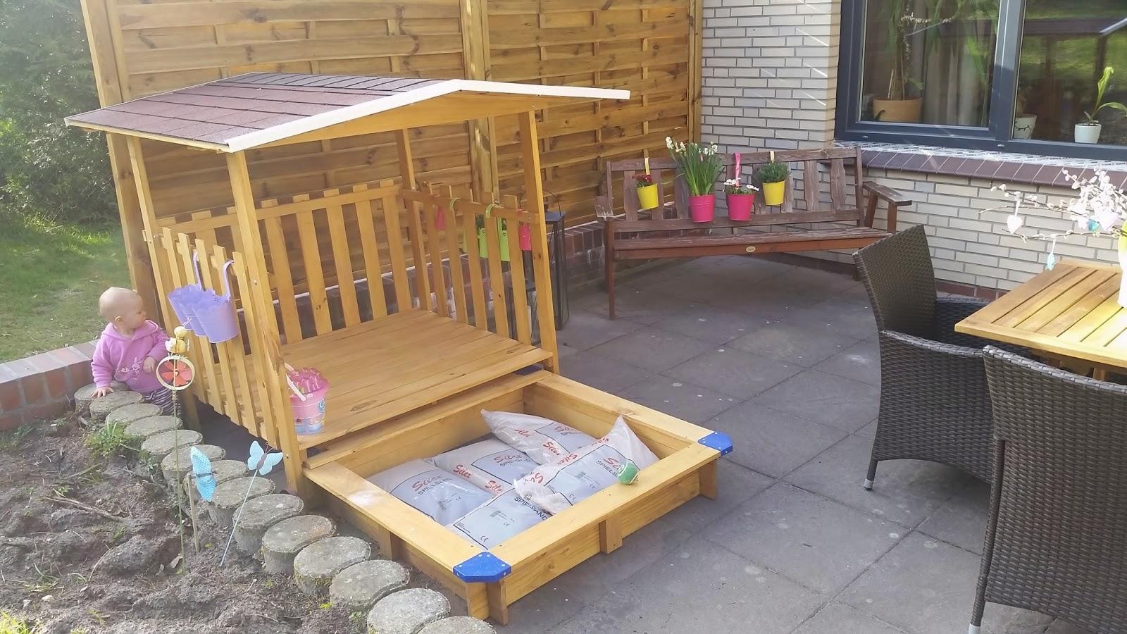 Family Bakery More ALDI Sandkasten Mit Spielhaus