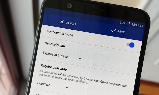 Google brings Gmail's confidential mode to mobile phone users