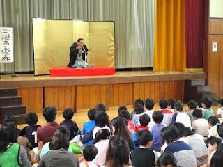 「日本の伝統芸能にふれてみよう、三遊亭楽春落語鑑賞会」
