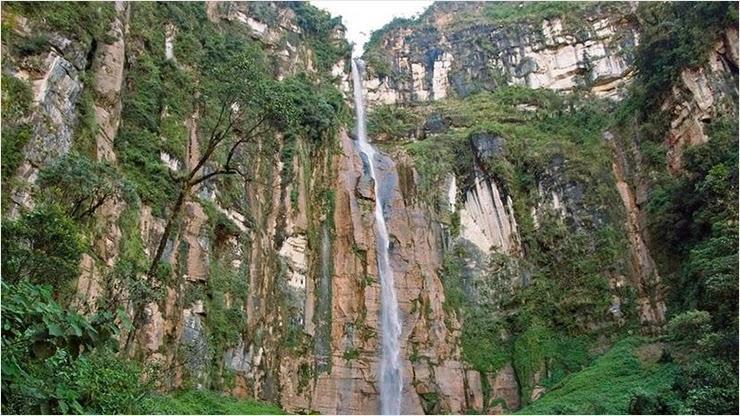 Где находится самый высокий водопад