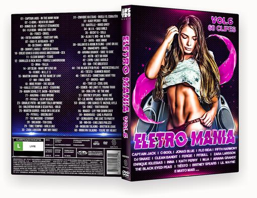 CAPA DVD – Eletro Mania Vol.6 – ISO