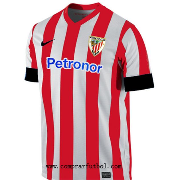 b0165198b2354 Nueva primera camiseta Athletic de Bilbao 2014 2015 mantiene las  tradicionales rayas rojas y blancas