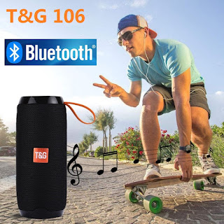speaker altoparlante bluetooth T&G 106 TG106