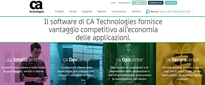 Lavorare-CA-Technologies-PC-vendita-software-Marketing