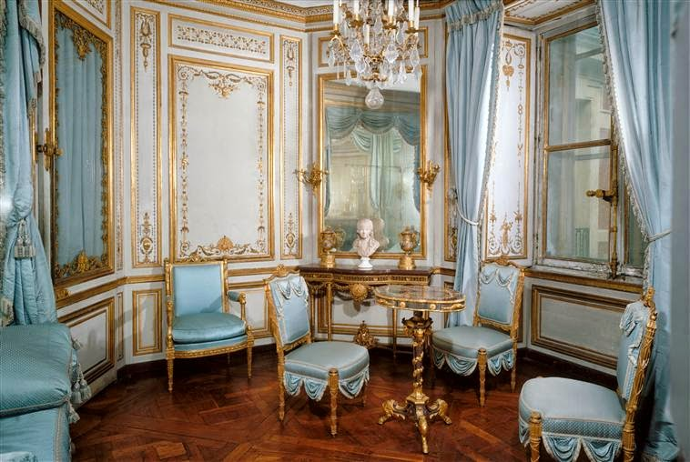 Marie Antoinette Blue, Marie Antoinette Furniture