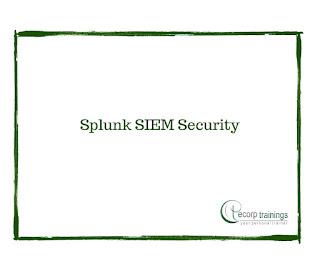 Splunk SIEM Security Training in Hyderabad India