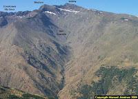 Valle glacial del Corral del Veleta